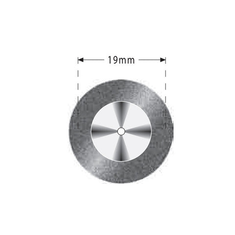 R04-357-514-190 | Reusable Diamond Discs. Single Sided Super Flex