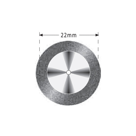 S04-357-504-220 | Reusable Diamond Discs. Single Sided Super Flex
