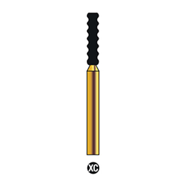 G/513-017S | (RT6) Reusable Gold Diamond Burs Gross Reduction Shaped
