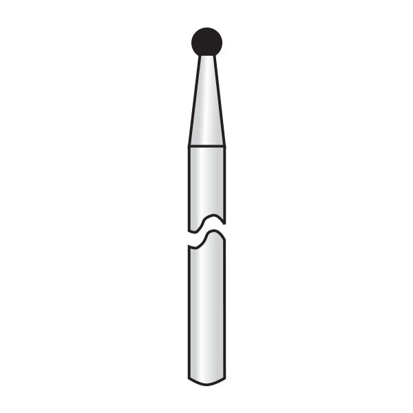 HP001-009 | HP Diamond Burs (Round Ball)
