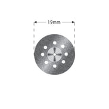 R04-335-524-190 | Reusable Diamond Discs. Double Sided - Perforated Semi-Flex