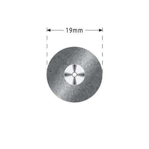 R04-321-514-190 | Reusable Diamond Discs. Double Sided Semi-Flex