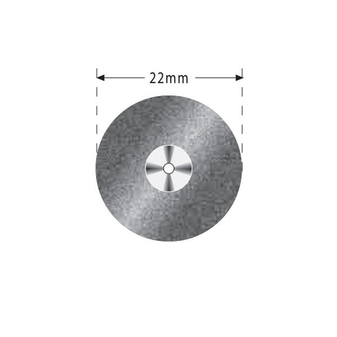 R04-327-514-220 | Reusable Diamond Discs. Double Sided Semi-Flex