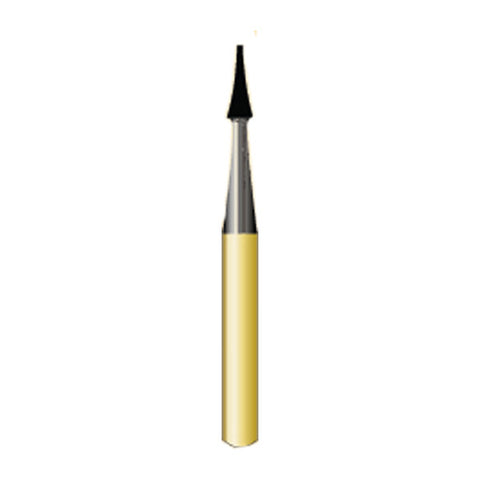 7606 10-Pk  Multi use Trimming & Finishing Burs. Interproximal Shaped