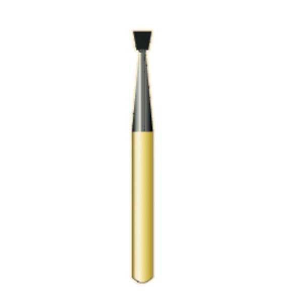 G/37 | Metal Cutting Gold Carbide Burs Inverted Cone Shaped