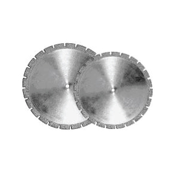 Large Diamond Discs, Model Preparation