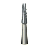 G/700  (2070) Metal Cutting Gold Carbide Burs Flat End Taper Shaped