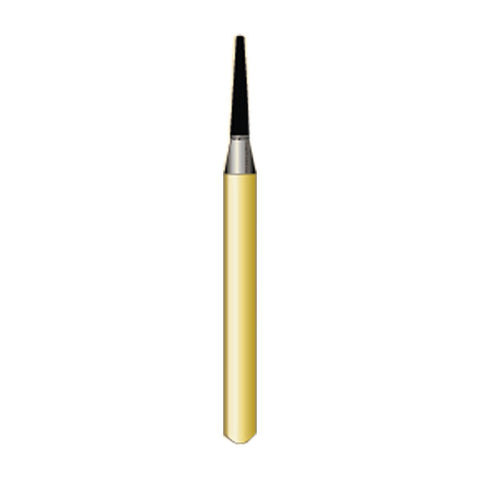 7114 10-pk Multi Use Trimming & Finishing Burs. T-Series Taper Round End Shaped
