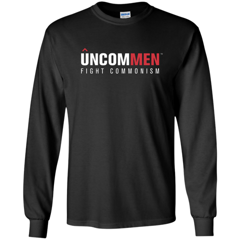 Image of UNCOMMEN Fight Commonism - LS Ultra Cotton Tshirt