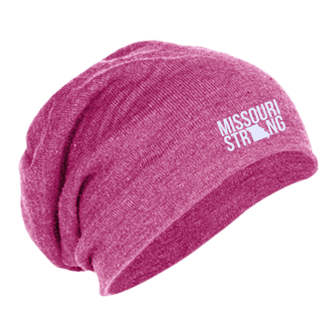 Image of MO Strong - Slouch Beanie - Kick Merch - 3