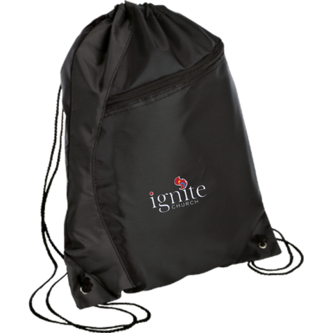 Image of IGNITE church - Colorblock Cinch Pack - Kick Merch - 1