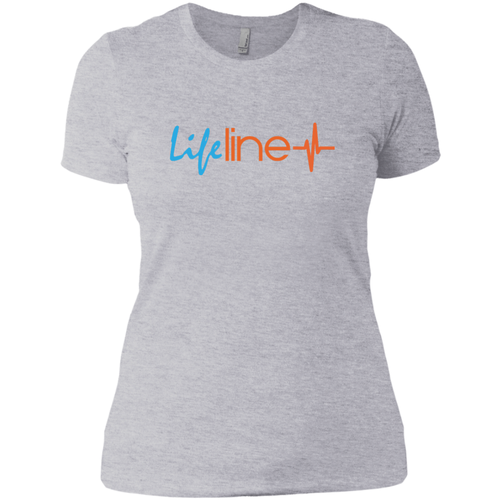 LIFE Line Next Level Ladies' Boyfriend Tee