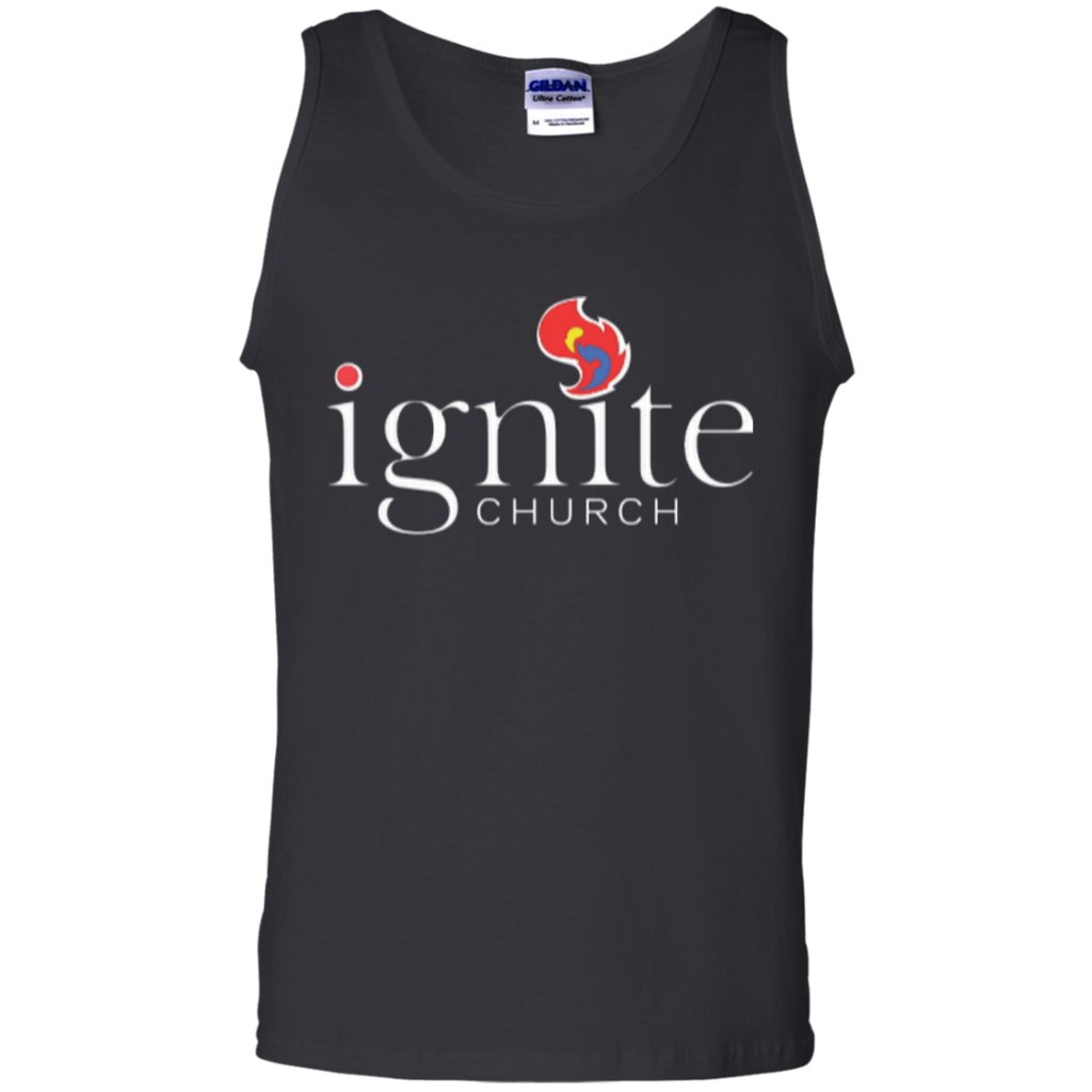 IGNITE church - Cotton Tank Top - Kick Merch - 1