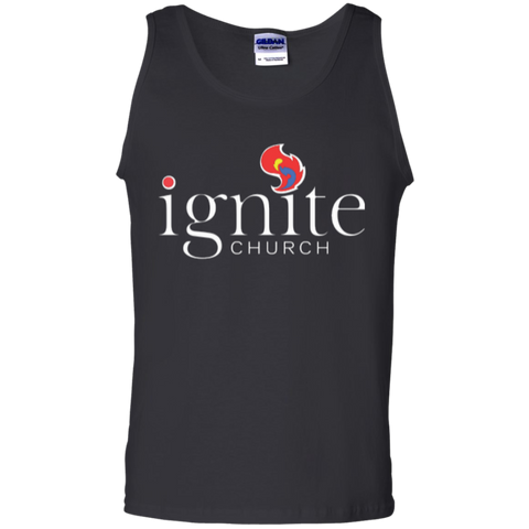 Image of IGNITE church - Cotton Tank Top - Kick Merch - 1