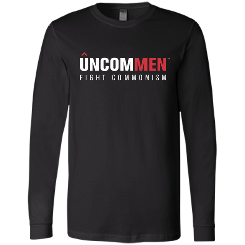 Image of UNCOMMEN Fight Commonism - Bella+Canvas Men's Jersey Long Sleeve