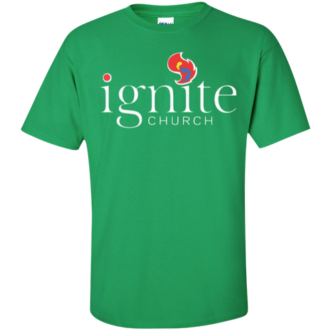 Image of IGNITE church - Cotton T-Shirt - Kick Merch - 5