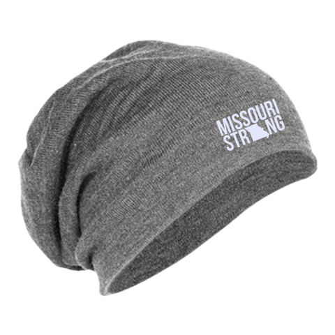 Image of MO Strong - Slouch Beanie - Kick Merch - 2