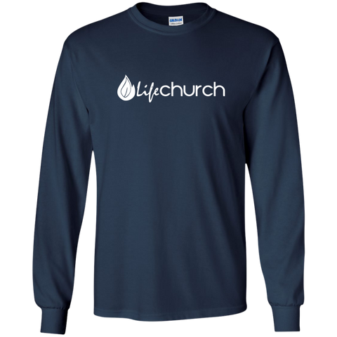 Image of LIFE Church LS Ultra Cotton Tshirt