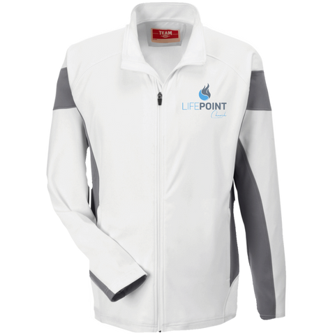 Image of Life Point Performance Colorblock Full Zip