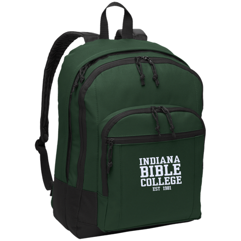 Image of IBC - Basic Backpack - Clean Text Design - Kick Merch - 4