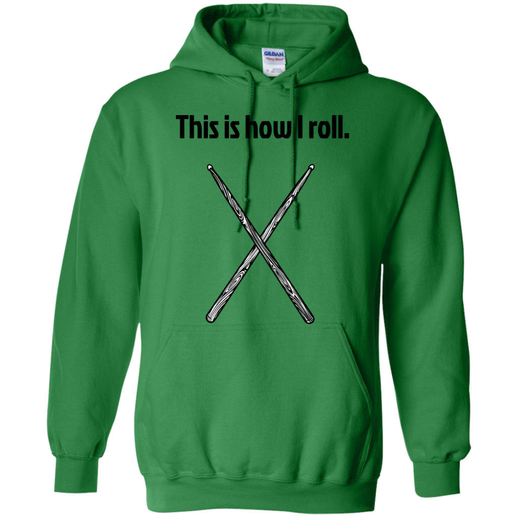 This is how I Roll - Pullover Hoodie - Purple Bee Designs - Kick Merch - 6