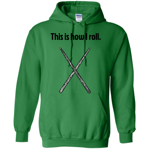 Image of This is how I Roll - Pullover Hoodie - Purple Bee Designs - Kick Merch - 6