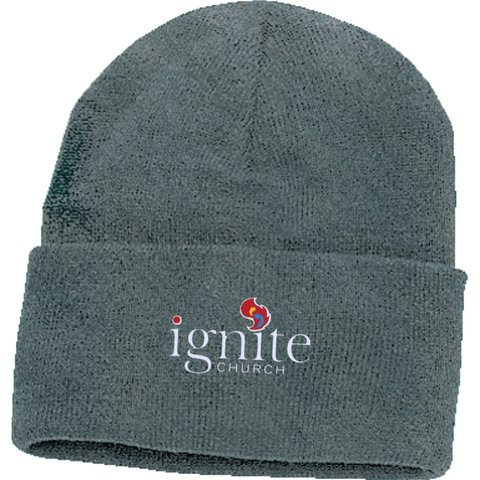 Image of IGNITE church - Knit Cap - Kick Merch - 1