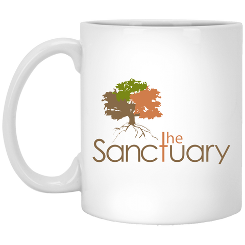The Sanctuary - 11 oz. White Mug