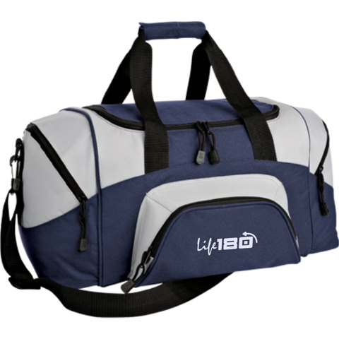 Image of LIFE180 Small Colorblock Sport Duffel Bag