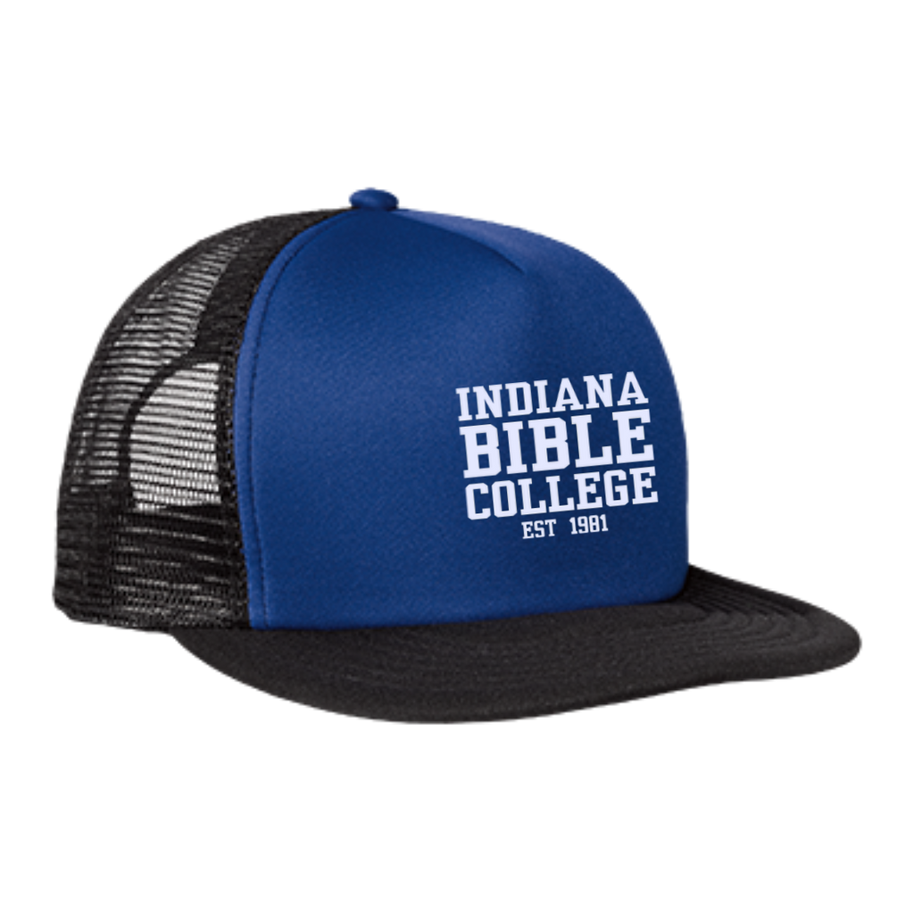 IBC - Clean Text - Trucker Hat with Snapback - Kick Merch - 3