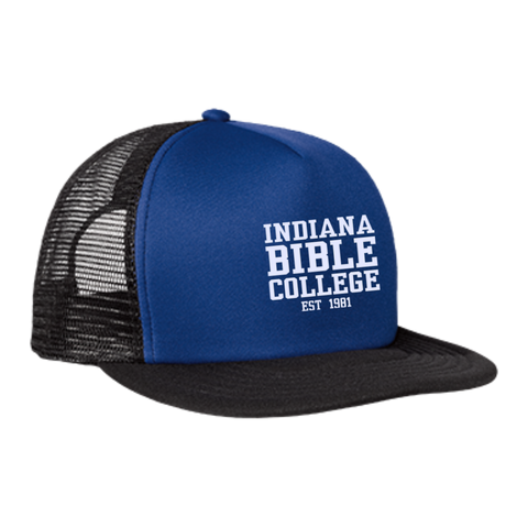 Image of IBC - Clean Text - Trucker Hat with Snapback - Kick Merch - 3