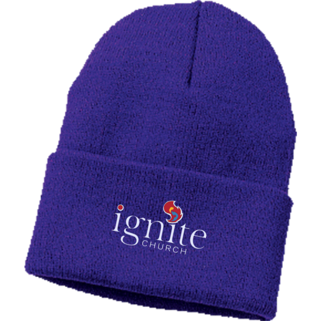 IGNITE church - Knit Cap - Kick Merch - 5