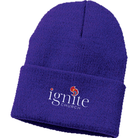 Image of IGNITE church - Knit Cap - Kick Merch - 5