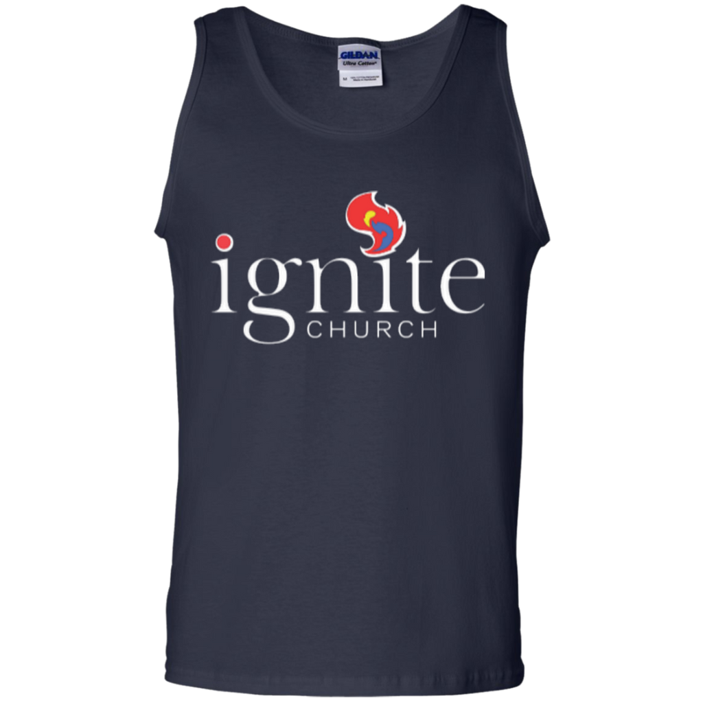 IGNITE church - Cotton Tank Top - Kick Merch - 2