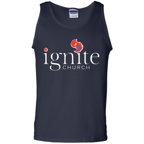 Image of IGNITE church - Cotton Tank Top - Kick Merch - 2
