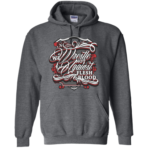 Image of We Wrestle Not - Pullover Hoodie - Godly Wear - Kick Merch - 4
