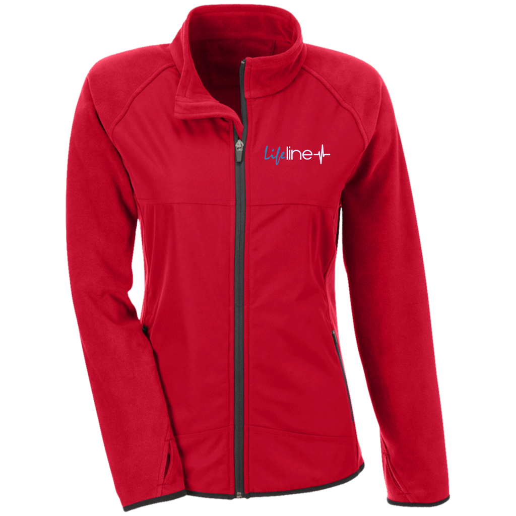 LIFE Line Team 365 Ladies' Microfleece with Front Polyester Overlay