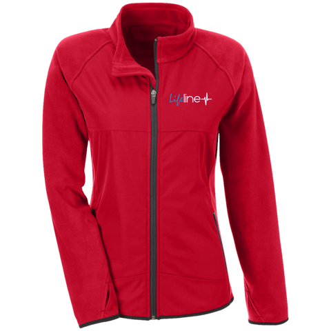 Image of LIFE Line Team 365 Ladies' Microfleece with Front Polyester Overlay