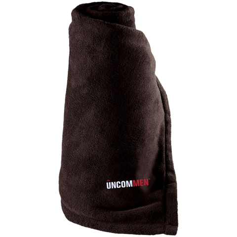 Image of UNCOMMEN Logo - Large Fleece Blanket
