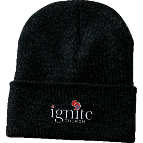 Image of IGNITE church - Knit Cap - Kick Merch - 2