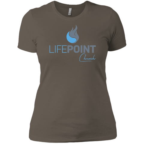 Image of Life Point Ladies' Boyfriend T-Shirt