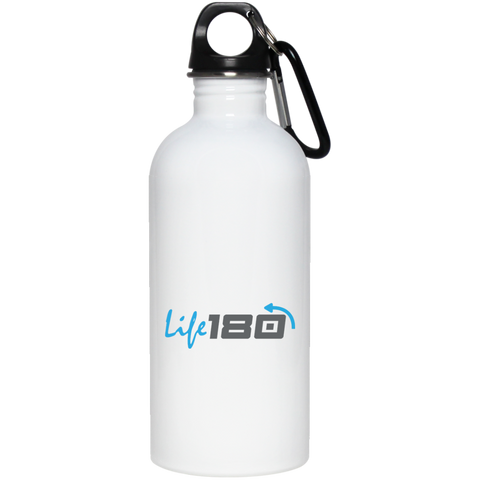 LIFE180 20 oz Stainless Steel Water Bottle