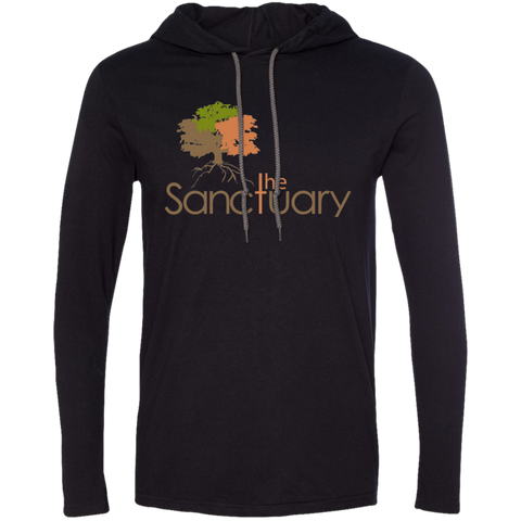 Image of The Sanctuary - T-Shirt Hoodie
