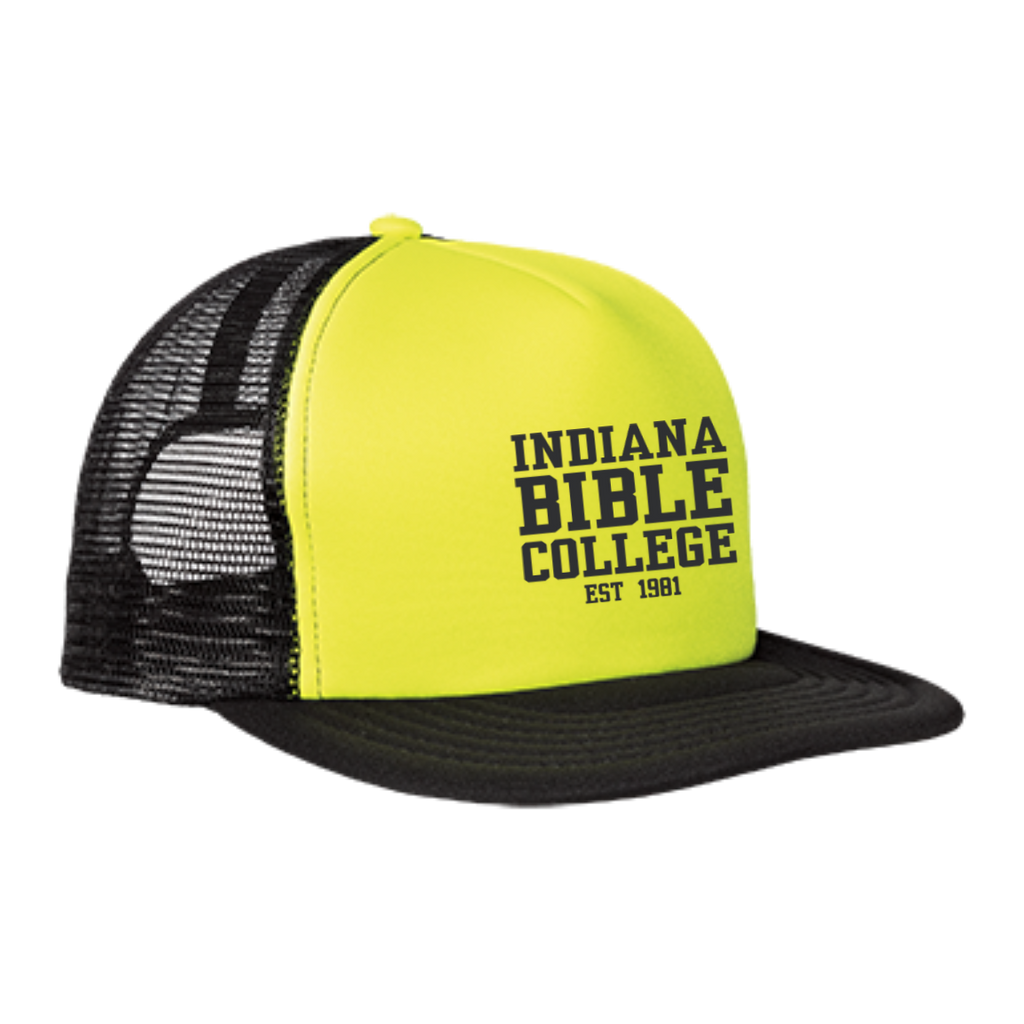 IBC - Clean Text - Trucker Hat with Snapback - Kick Merch - 1