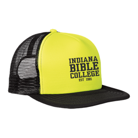 Image of IBC - Clean Text - Trucker Hat with Snapback - Kick Merch - 1