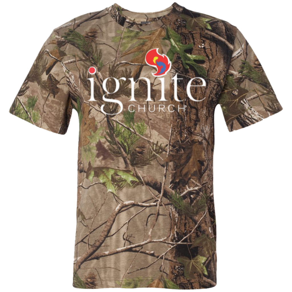 IGNITE church - Short Sleeve Camouflage TShirt - Kick Merch
