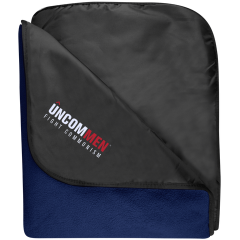 UNCOMMEN Fight Commonism - Fleece & Poly Travel Blanket
