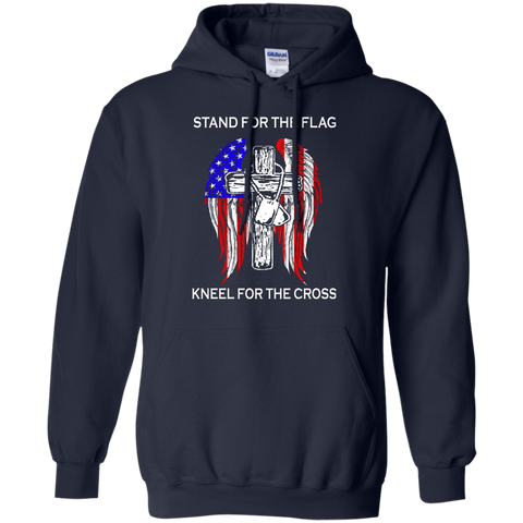 Image of Stand For The Flag Kneel For The Cross