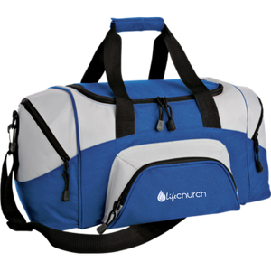 LIFE Church Small Colorblock Sport Duffel Bag