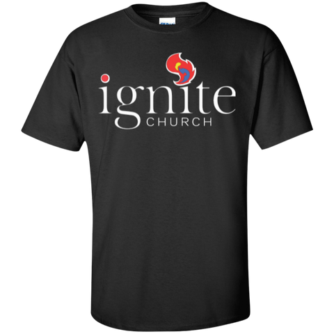 Image of IGNITE church - Cotton T-Shirt - Kick Merch - 1